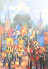 Schilderij-jos-leurs-handel-valkenswaard